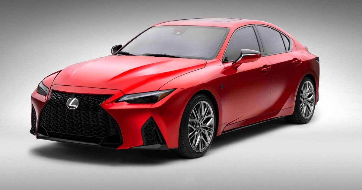The Lexus IS 500 F Sport Performance Has A Long Name And A 472bhp N/A V8