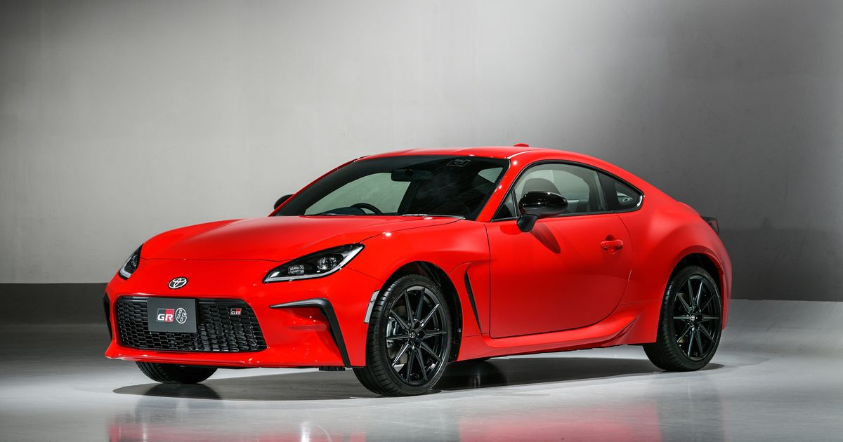 The New Toyota GR86 Is Here With A 232bhp 2.4 Boxer Engine