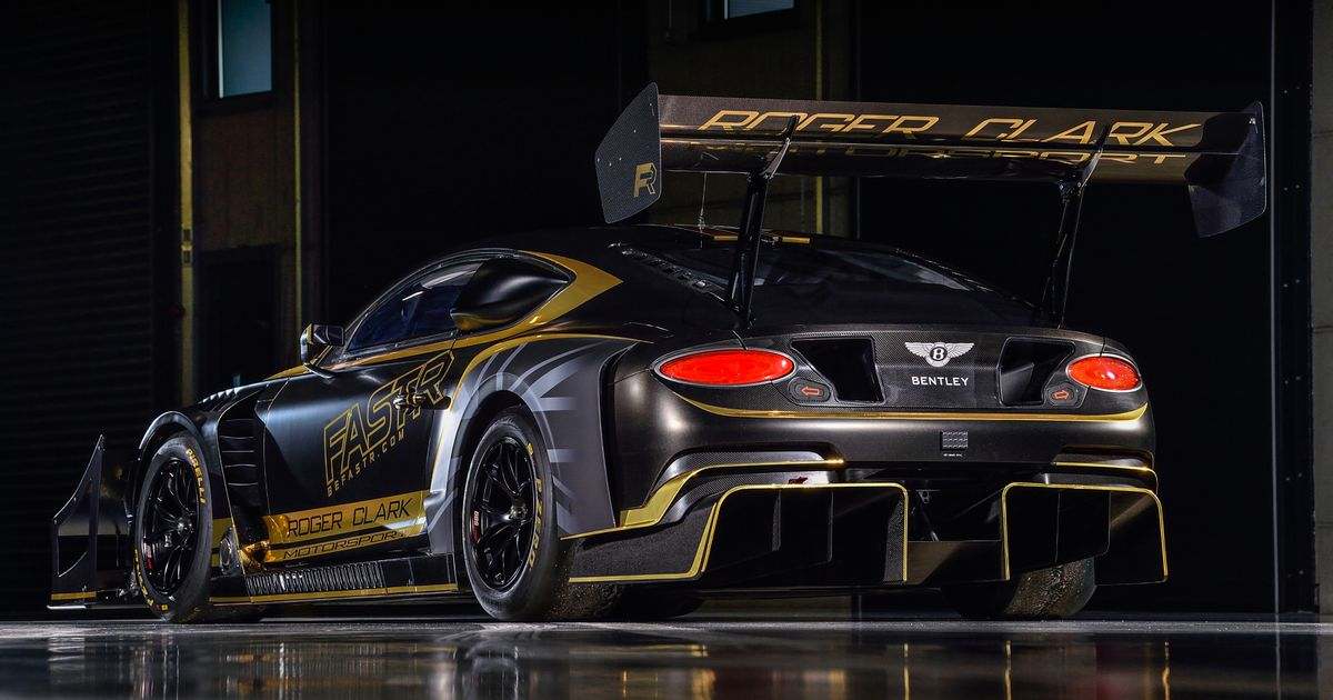 The Bentley Continental GT3 Pikes Peak Has Arrived With A Colossal Rear Wing