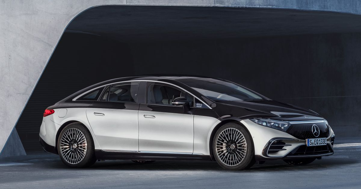 The Mercedes EQS Is Here And A 751bhp AMG Version Is On The Way