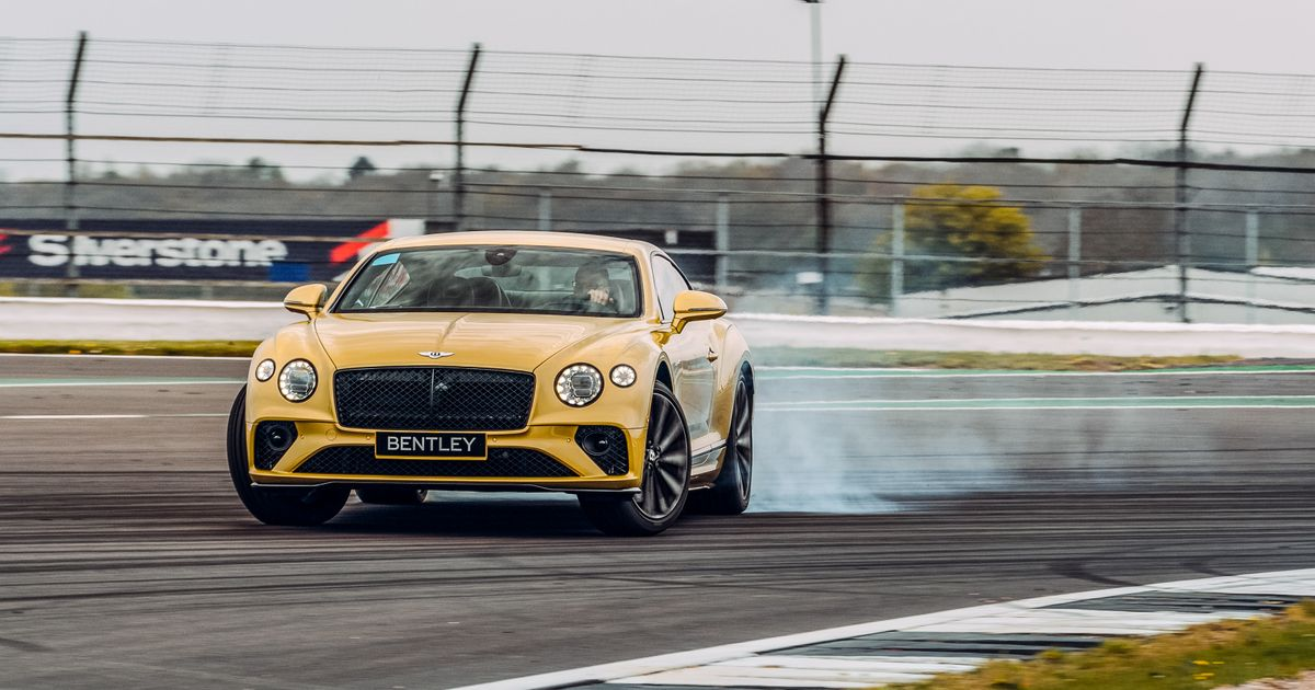The Bentley Continental GT Speed Is An Unexpected Weapon On Track
