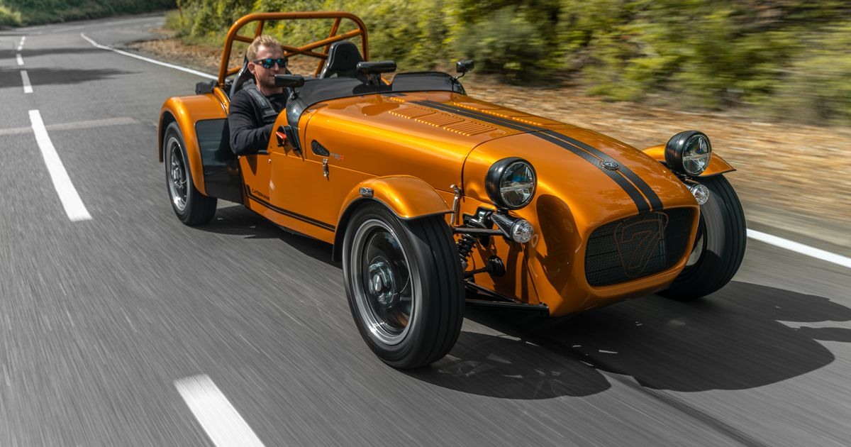 The 440kg Caterham Seven 170 Is The Brand s Lightest Ever Car