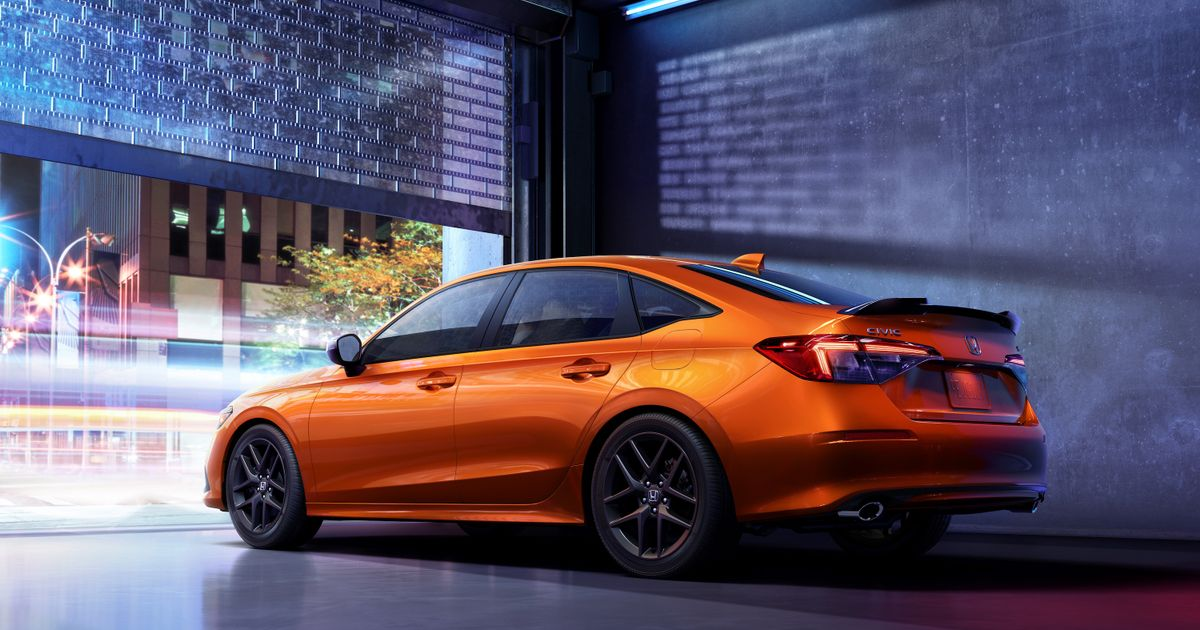 The New Saloon-Only Honda Civic Si Arrives With Type R Stuff And 197bhp