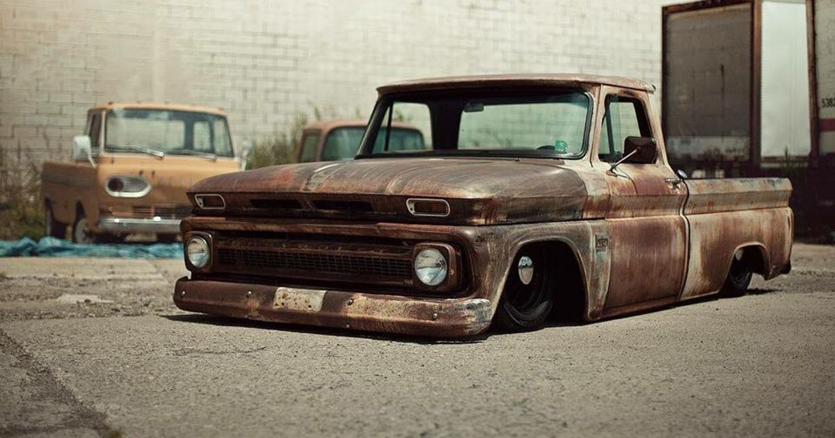 Slammed and rusted to the max!