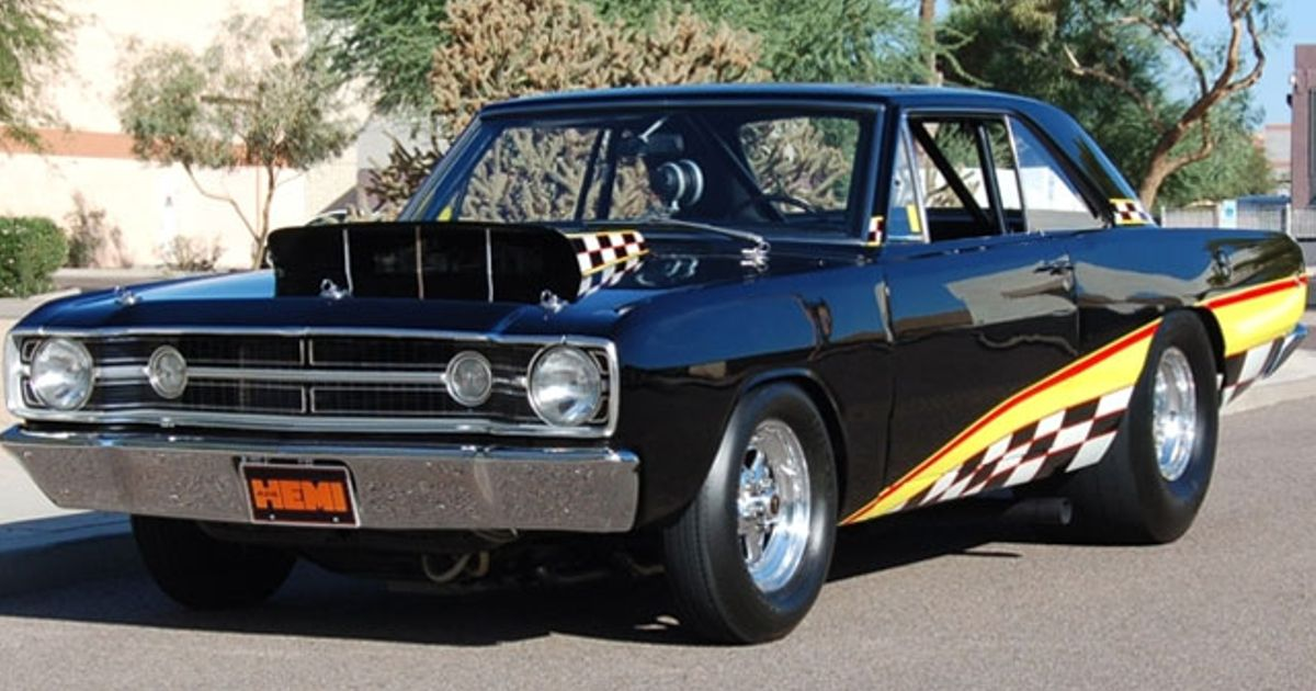 1968 dodge dart hemi super stock said to be the only. Black Bedroom Furniture Sets. Home Design Ideas