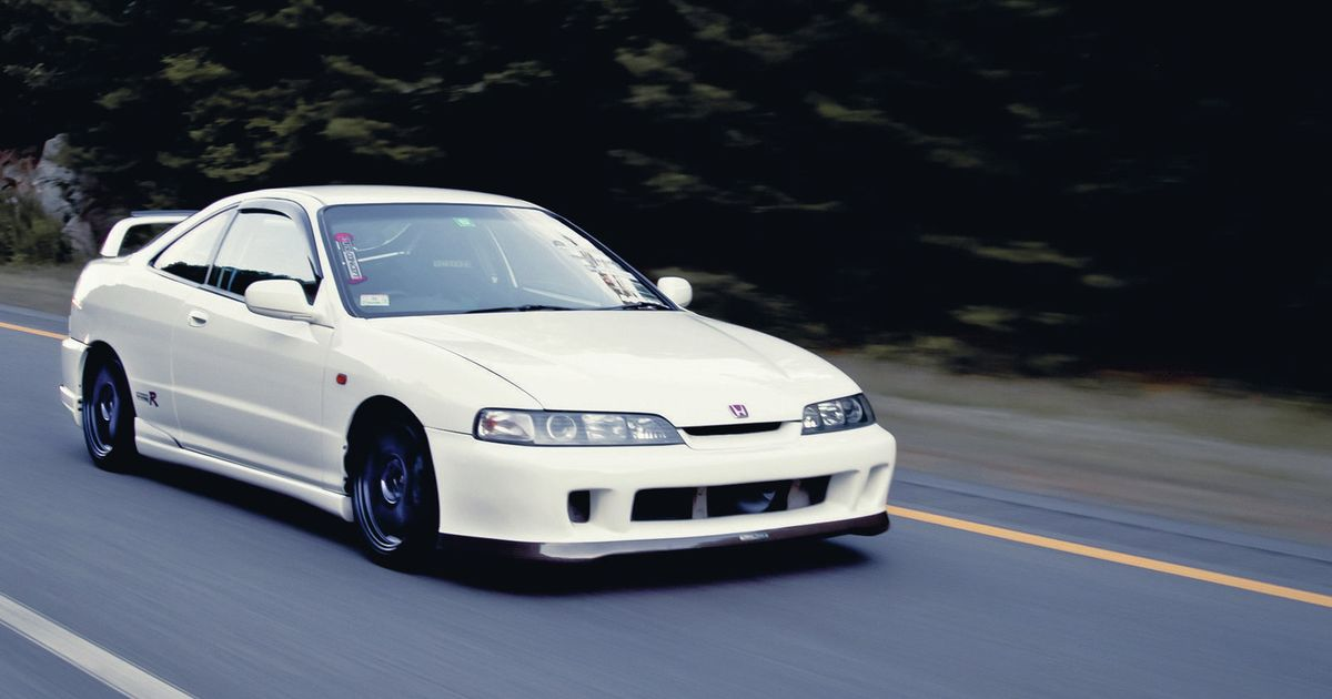 Integra Type R D E B on 91 Acura Integra