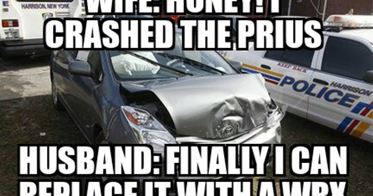 custom image1 54f71a3a24720 if a petrol head had a wife that forced him into buying a prius,Prius Memes