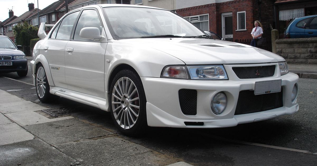 Our Old Mitsubishi Evo V