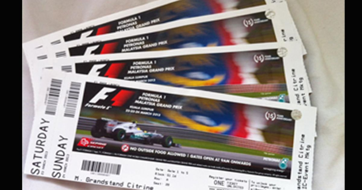 Цена билетов на Формулу1 в Сочи  Формула1 Сочи
