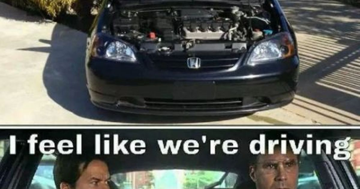 Honda Drivers Be Like