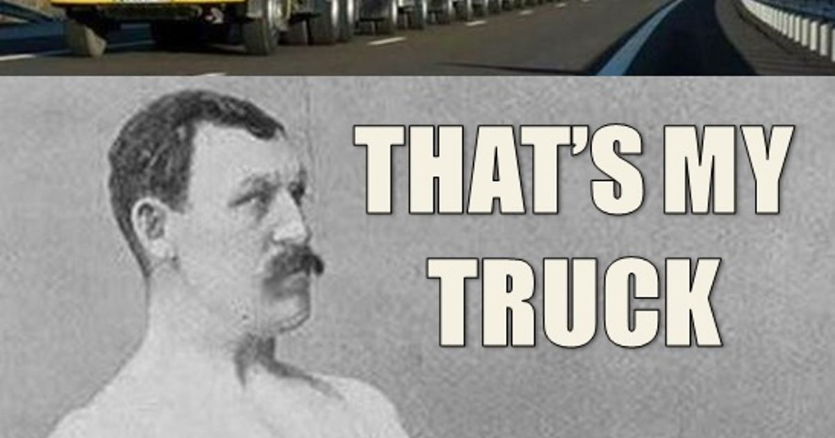 Manly Man Truck
