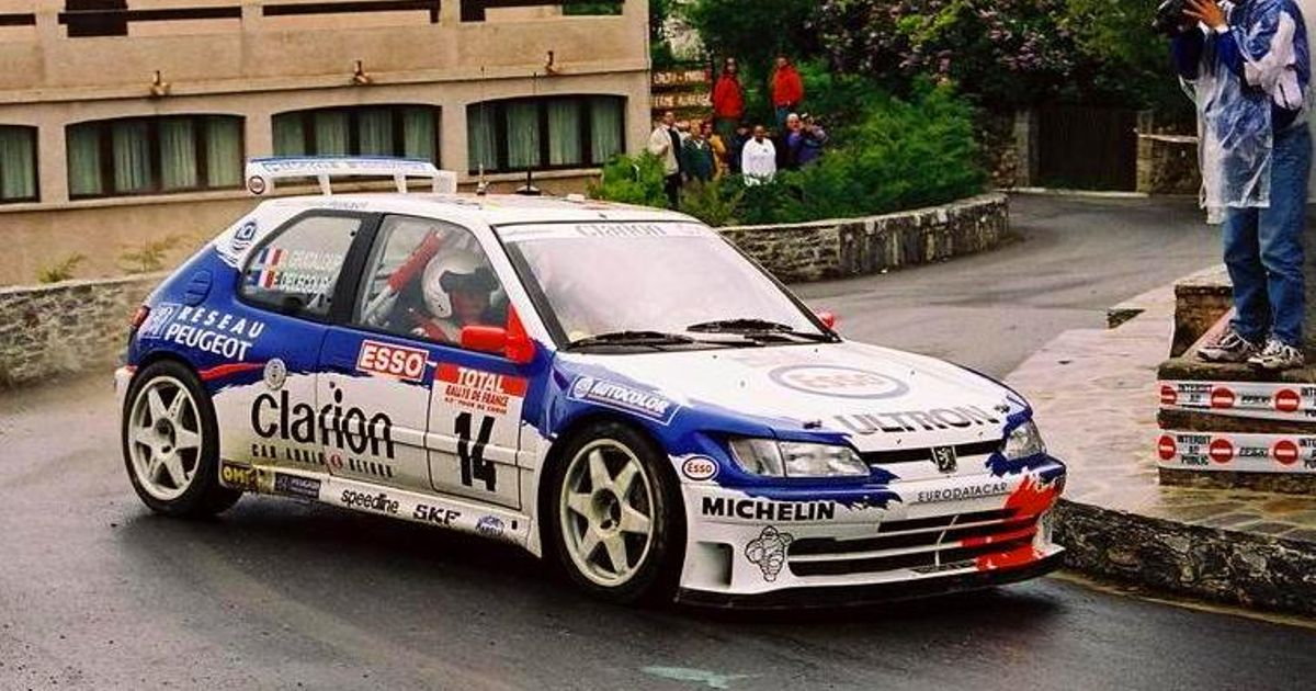 Any love for the Peugeot 306 WRC?