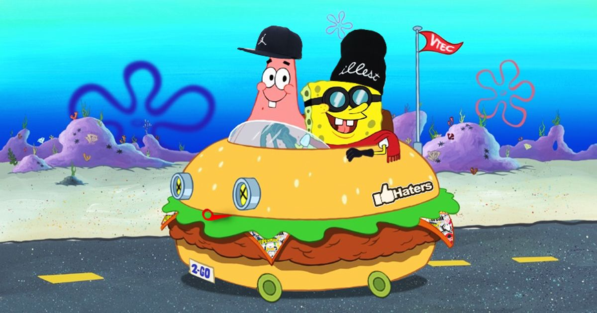 What You Think About The Stanced Krabby Patty I Did In Photoshop P