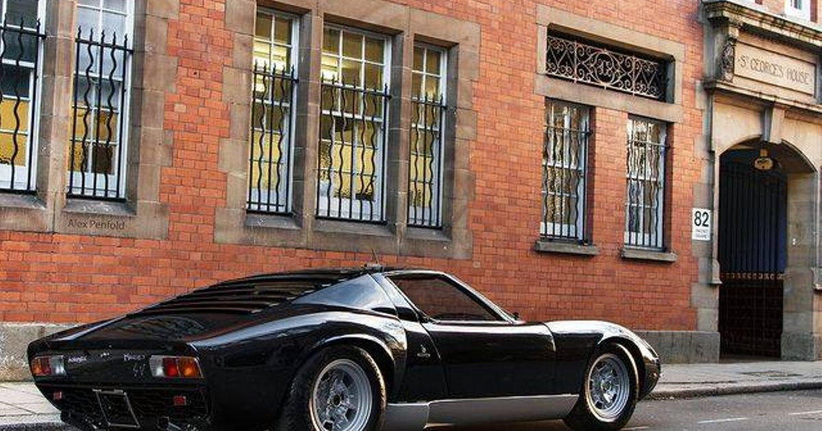 have another black lamborghini the miura has such beautiful lines whats the most beautiful car. Black Bedroom Furniture Sets. Home Design Ideas