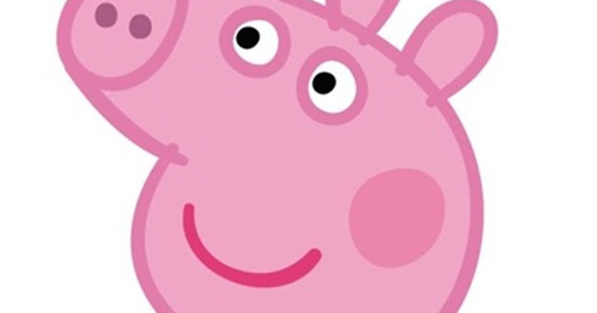 Peppa Pigs Head Looks Like A Turbo 0
