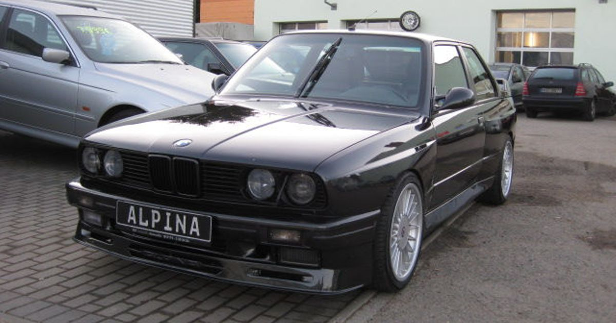 bmw m3 e30 alpina b6 3 5s bi turbo for sale in germany. Black Bedroom Furniture Sets. Home Design Ideas
