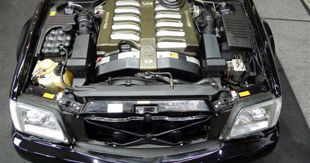 Amg 7 3 Litre M120 V12 Largest Amg Engine This Engine