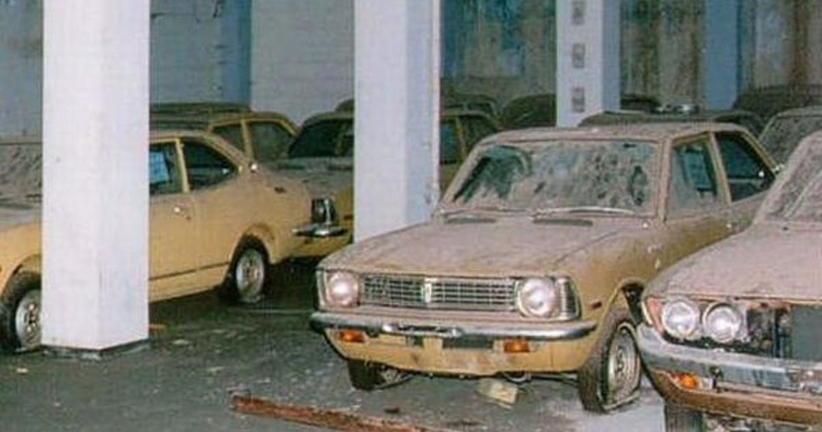 This Toyota Dealership In Varosha Cyprus Has Been Abandoned Since 1974