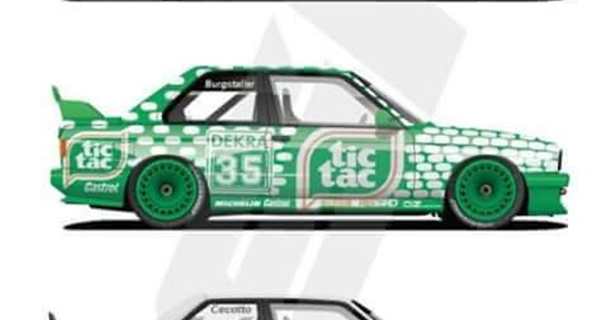 Bmw E30 M3 What Livery Do You Think Looks The Best