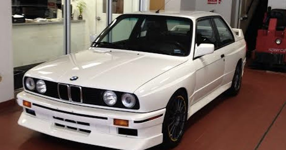 Spotted At Local Bmw Dealer E30 M3 Missing Stock Bbs Wheels