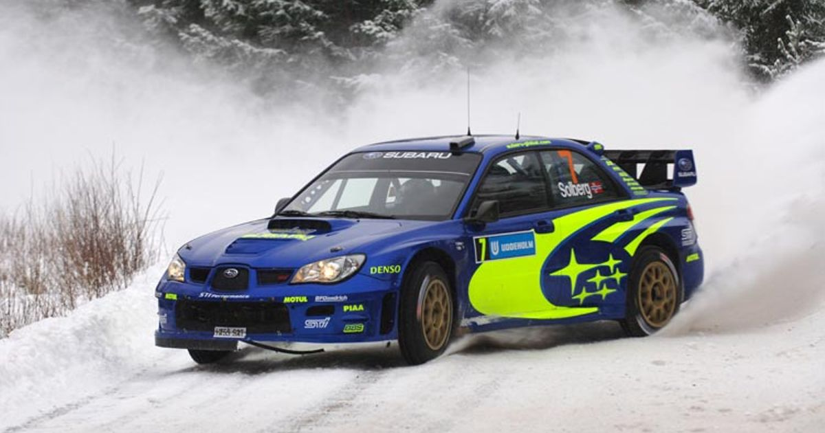 Subaru Rally Car. What more can I say.