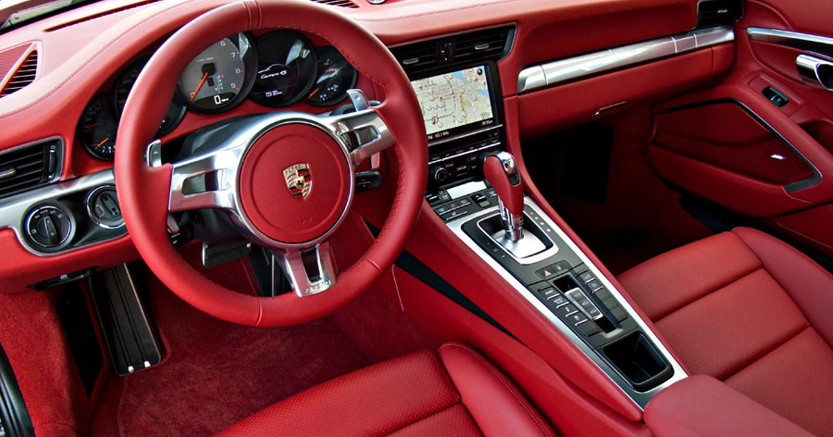 what do you guys think about red leather interiors in sports cars. Black Bedroom Furniture Sets. Home Design Ideas