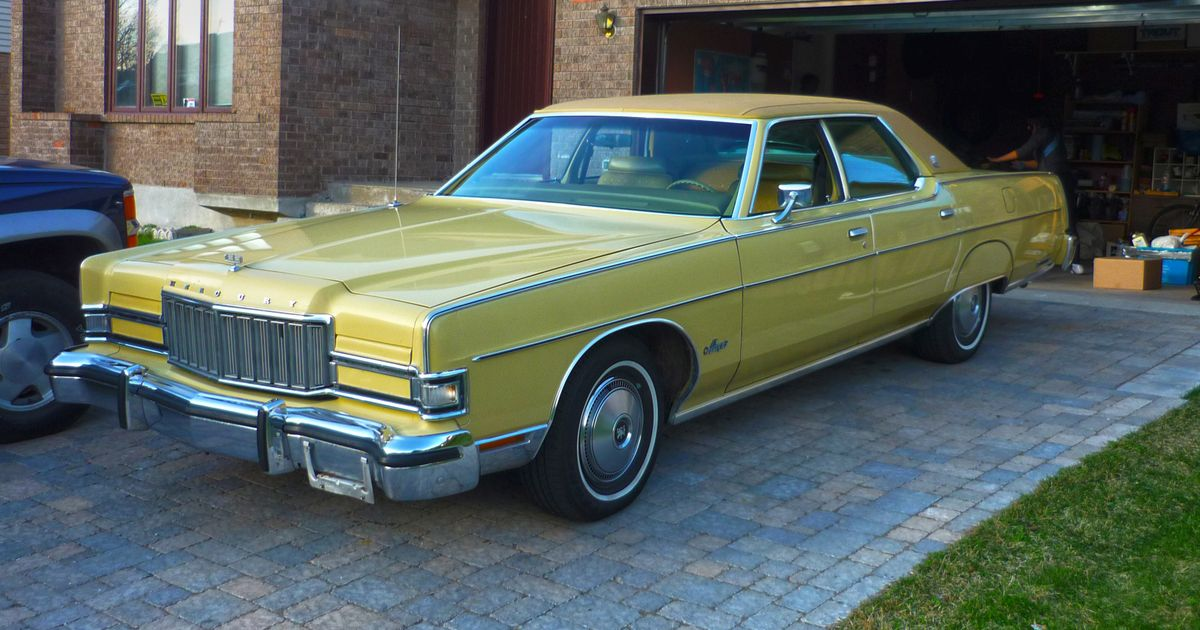 My 1974 Grand Marquis Brougham  If You Were A Pimp Or Any