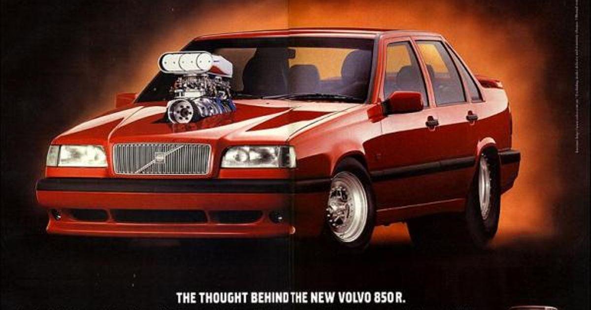 The basic idea behind a Volvo 850 R