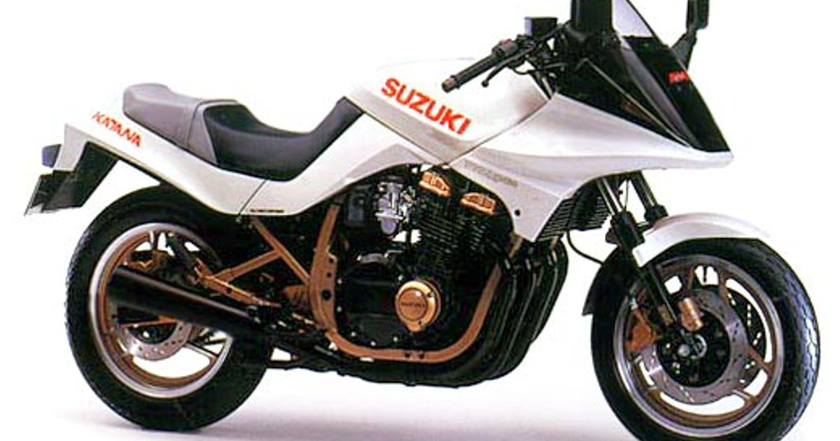 Used 750 BMW >> Motorcycle with pop up headlights the Suzuki katana gsx750se