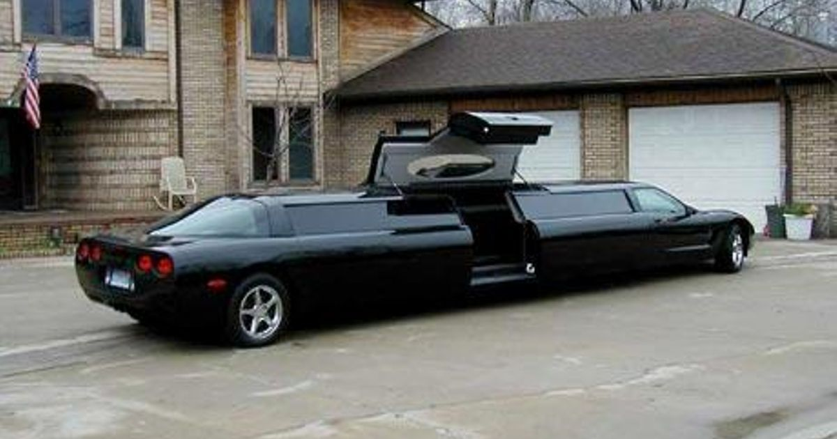 Supposedly This Is Bill Gates S Corvette Limo