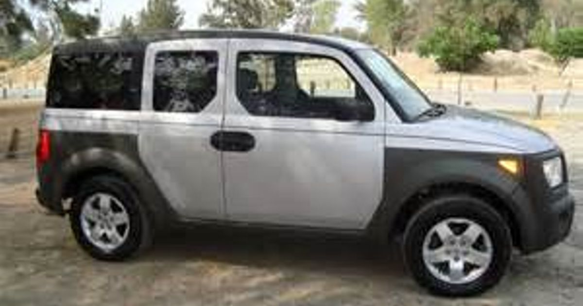 Hello I m new to CT I have an 03 Honda Element and I was