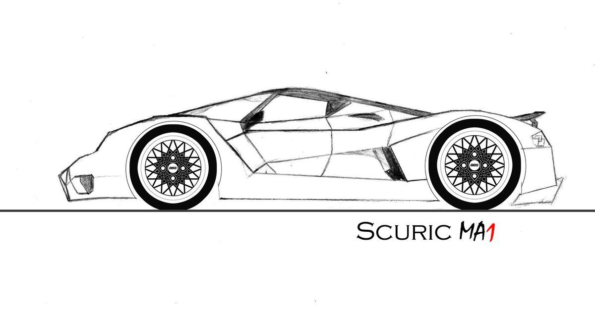 my hypercar  the scuric ma1