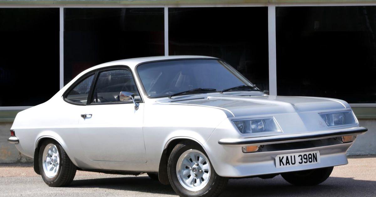 1974 Vauxhall Firenza Droop Snoot