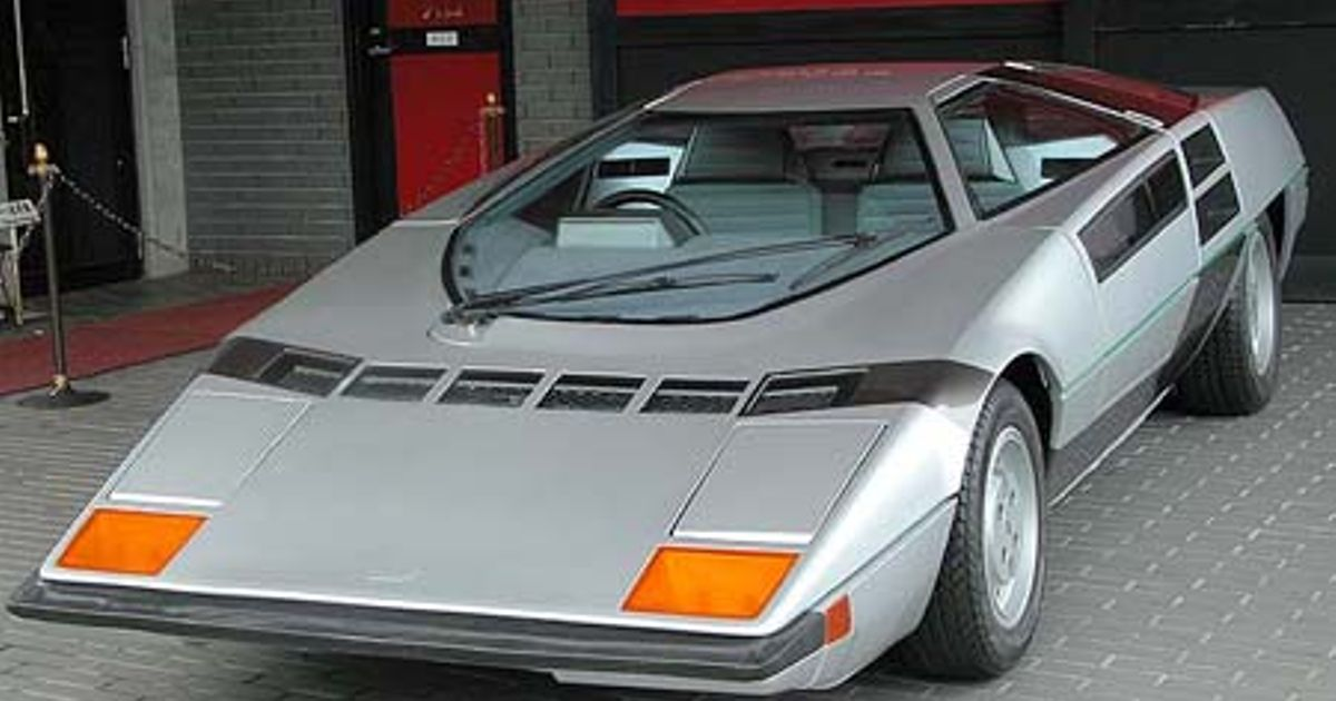 This Car The Dome Zero Is A Japanese Car That Got Very Close To Being Made Into Production
