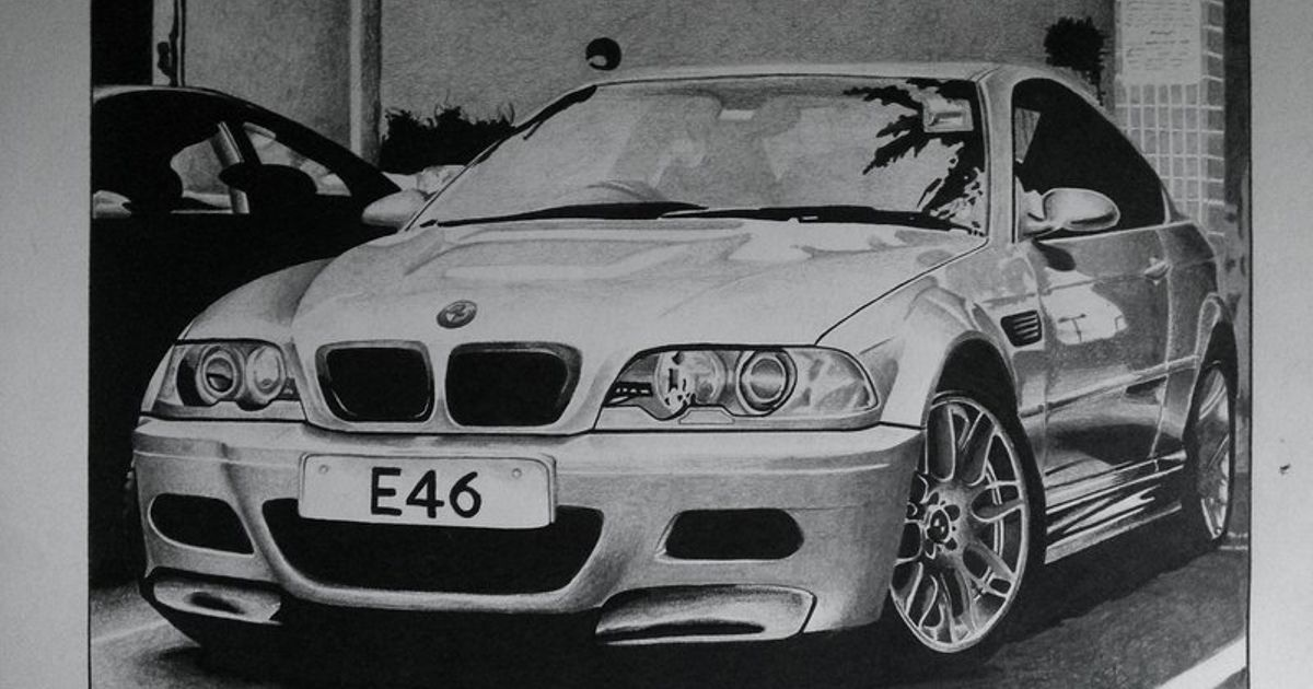 Bmw M3 E46 Drawing What Do You Think