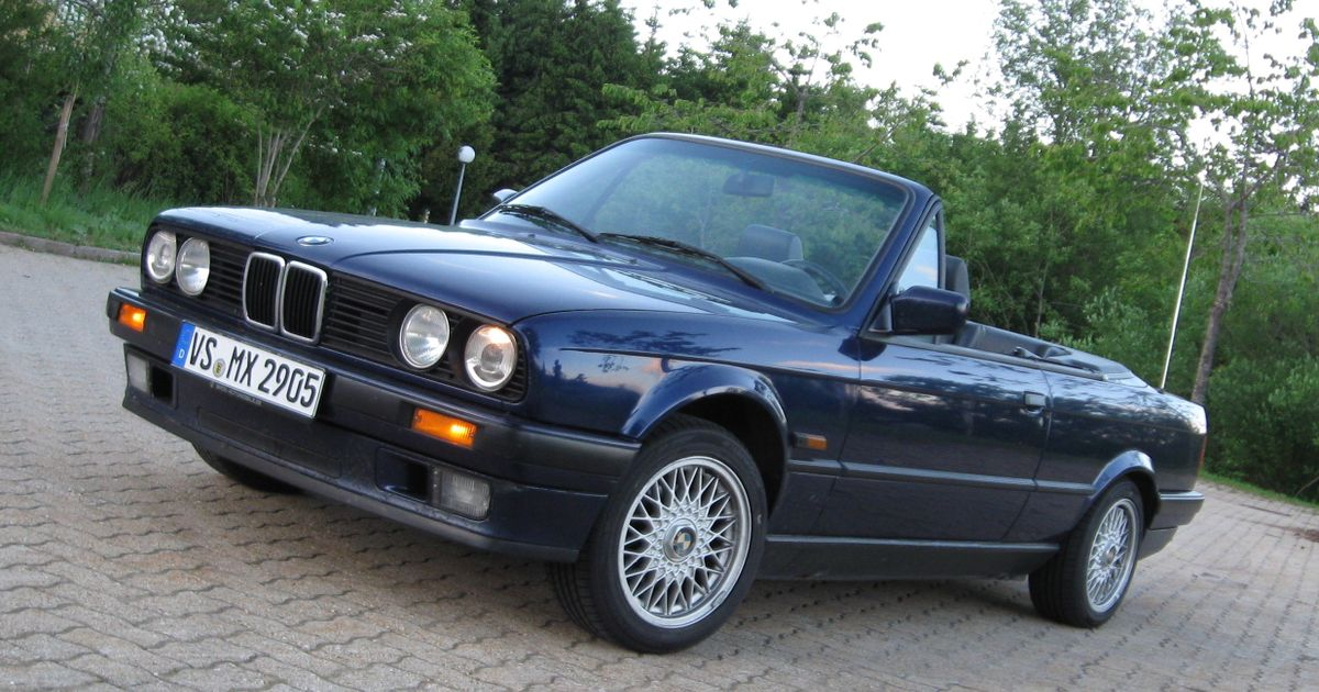 1991 bmw e30 318i cabrio. Black Bedroom Furniture Sets. Home Design Ideas