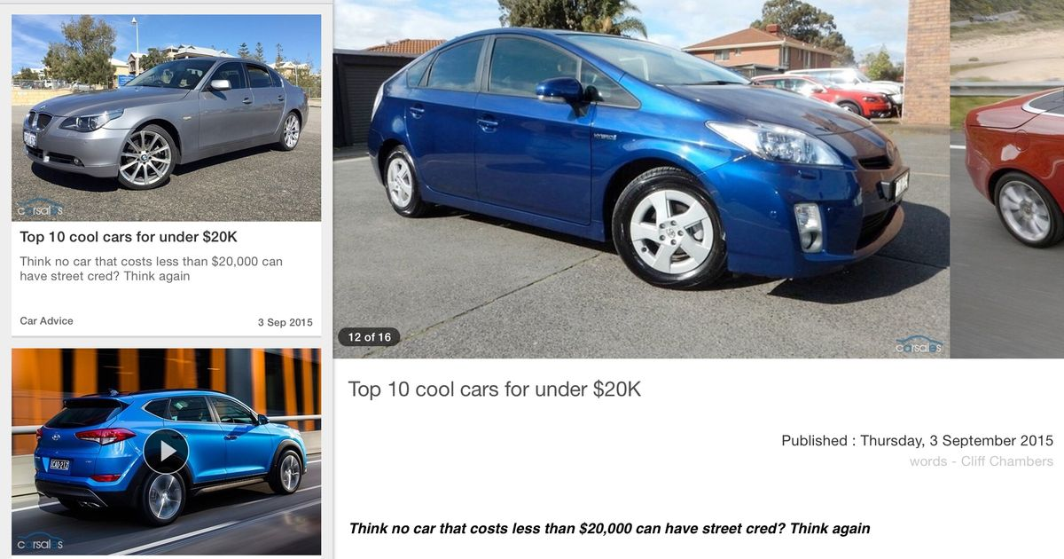 Cars Under 20k >> As You Can See Our Aussie Journos Are Very Good At Finding