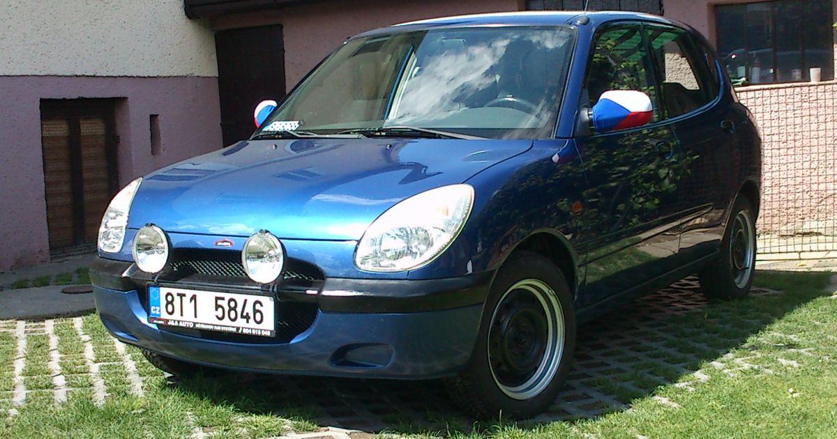 Modified Daihatsu Sirion 2018