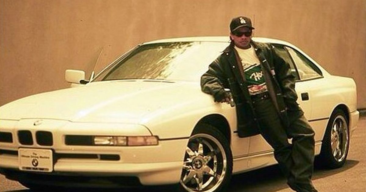 Eazy E And His Bmw 850i He Had Good Taste Picture