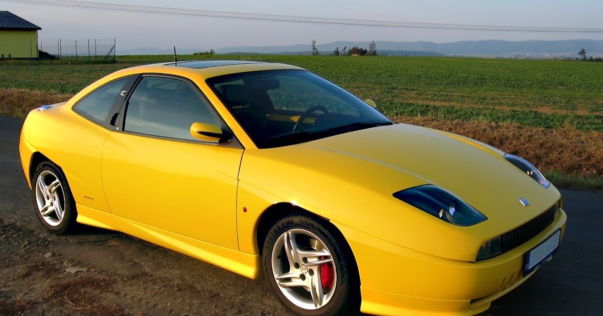 Welcome To Another Episode Of Cars That Don T Get The Love They Deserve Today S Pick Is The 90 S In My Region Called Poor Man S Ferrari Fiat Coupe Just Look At It It S