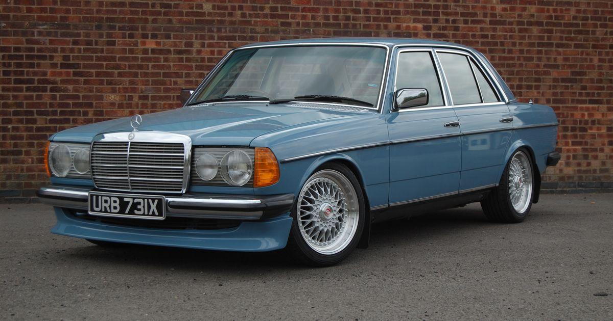 1982 mercedes benz w123 200 for Garage agree mercedes