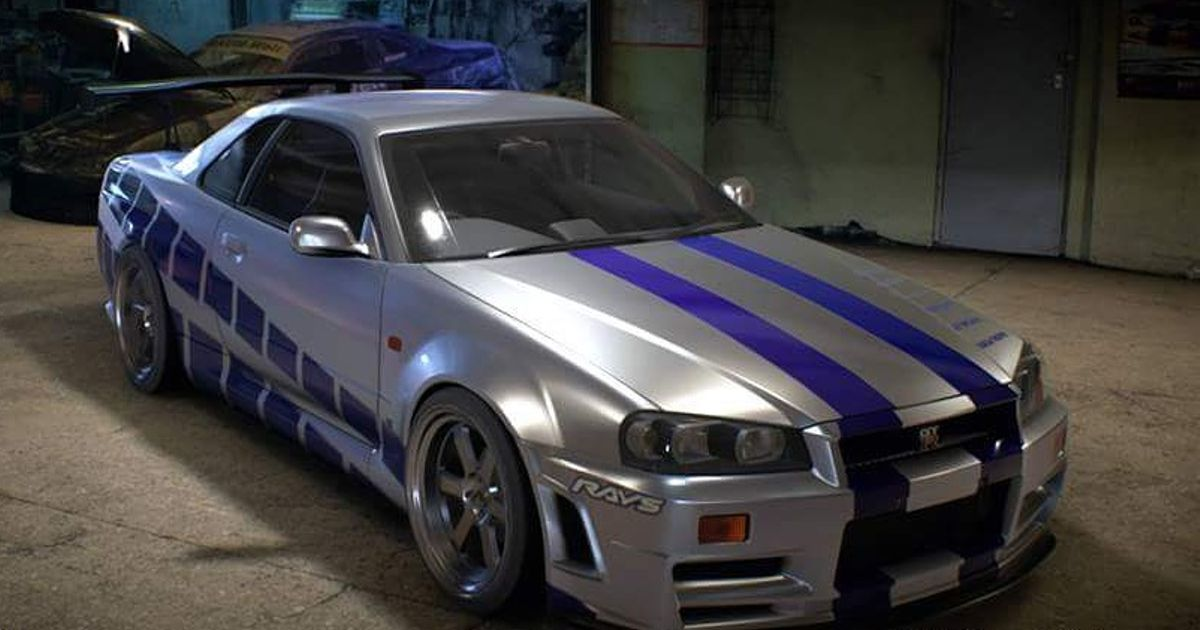 Need For Speed Paul Walker S Skyline