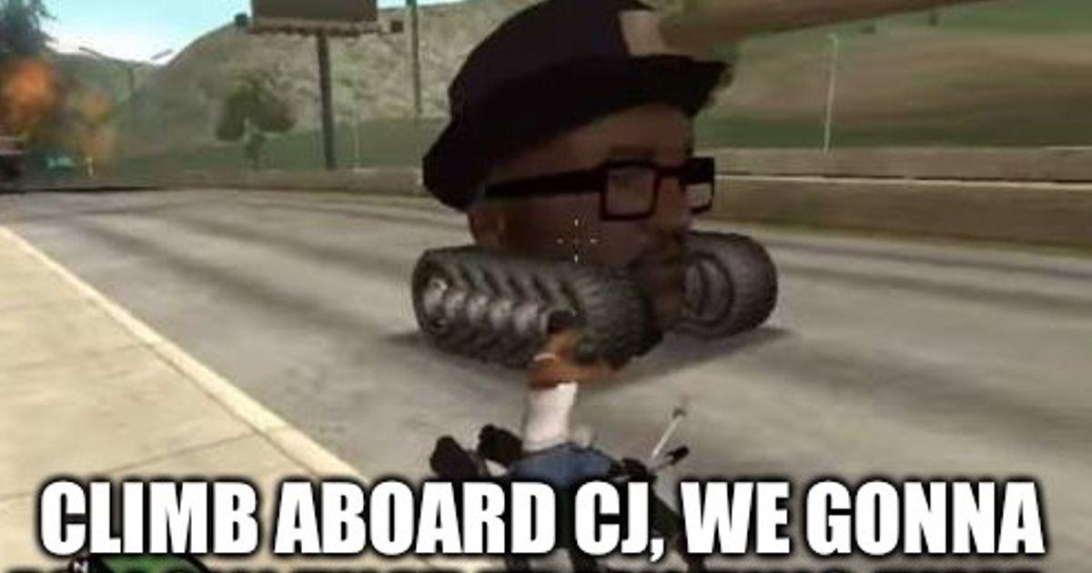 All You Had To Do Was Follow The Damn Train Cj