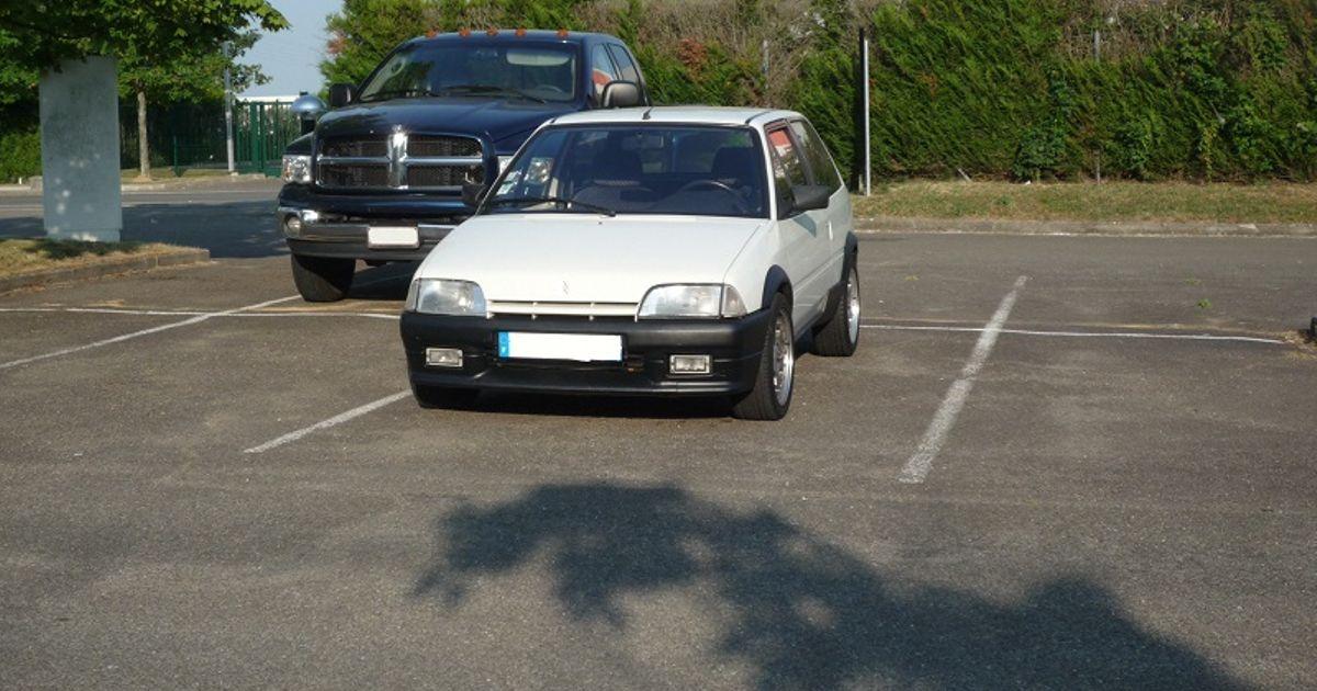 Cheap Brake Jobs >> 1992 Citroen AX GT 16