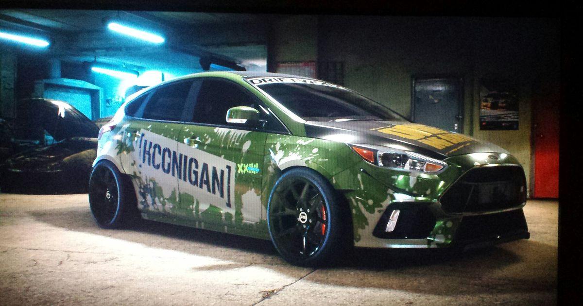 Hoonigan Ford Focus Rs