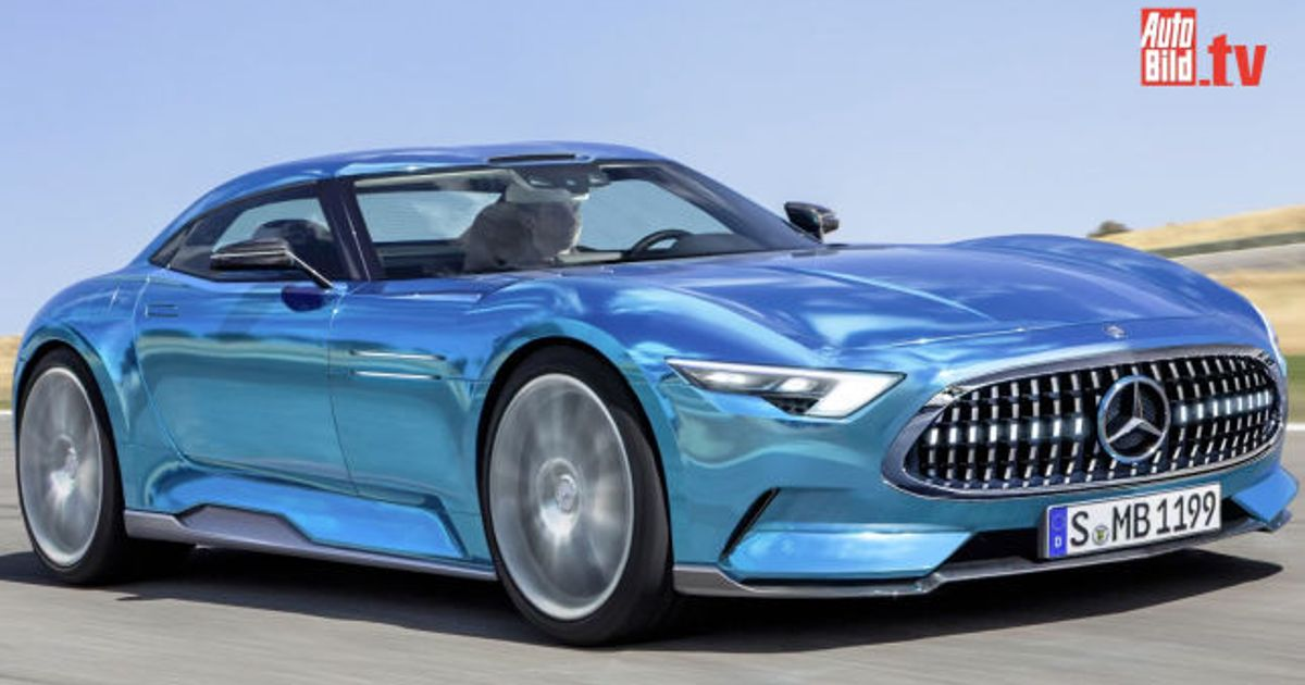 New mercedes benz slr that might come out 2018 for Mercedes benz new cars 2018