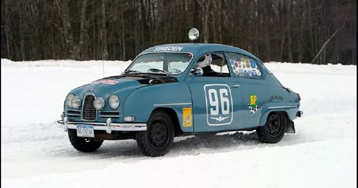 Cars That Start With J >> My favorite rally car! The Saab 96 2 stroke!