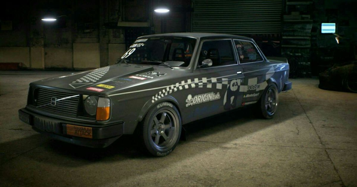 Volvo 242 Drift build #nfs2015