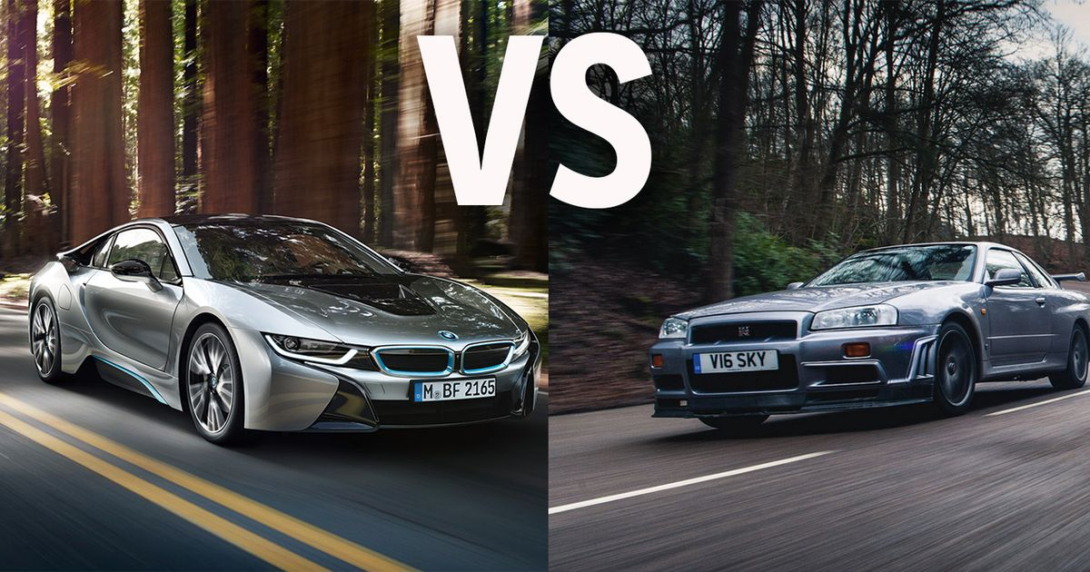 Would You Rather Own A V8 Powered Bmw I8 Or A Stock Nissan Skyline