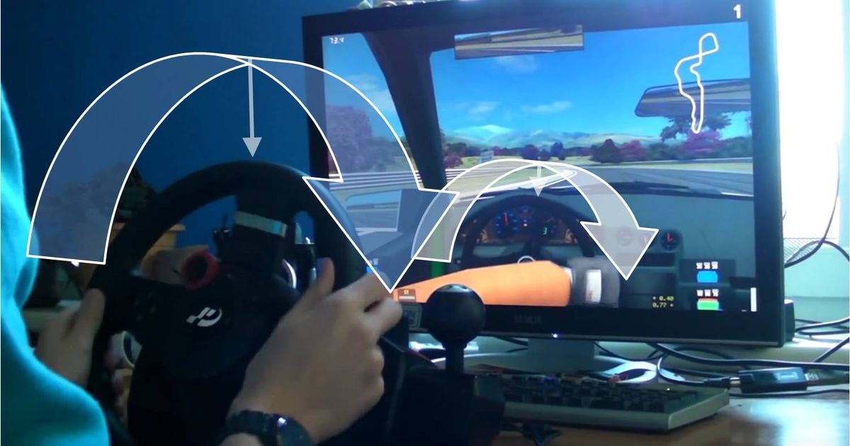 Why do we need a 900° steering wheel in games that can't